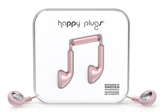 happy EARBUD PINK GOLD