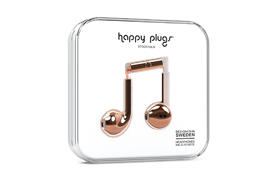 EARBUD PLUS ROSE GOLD 7823