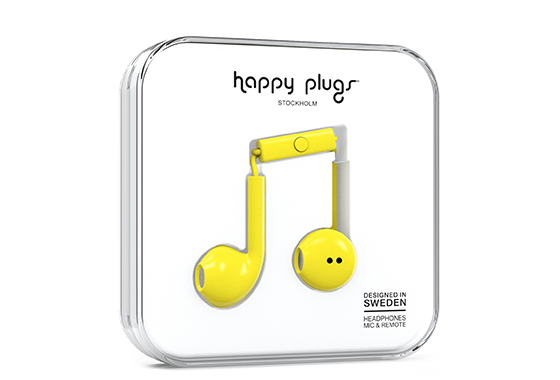 EARBUD PLUS YELLOW 7816