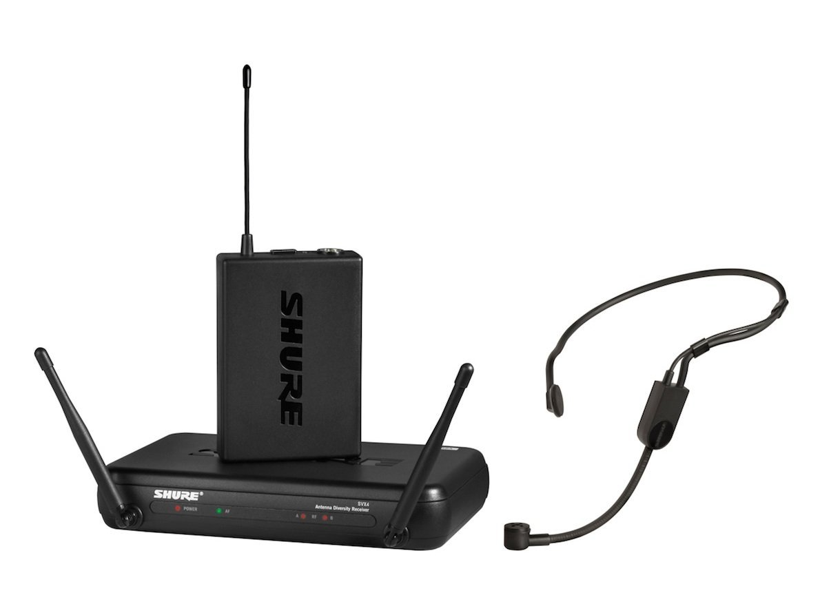SVX4ダイバーシティ受信機、SVX1ボディパック送信機、P…