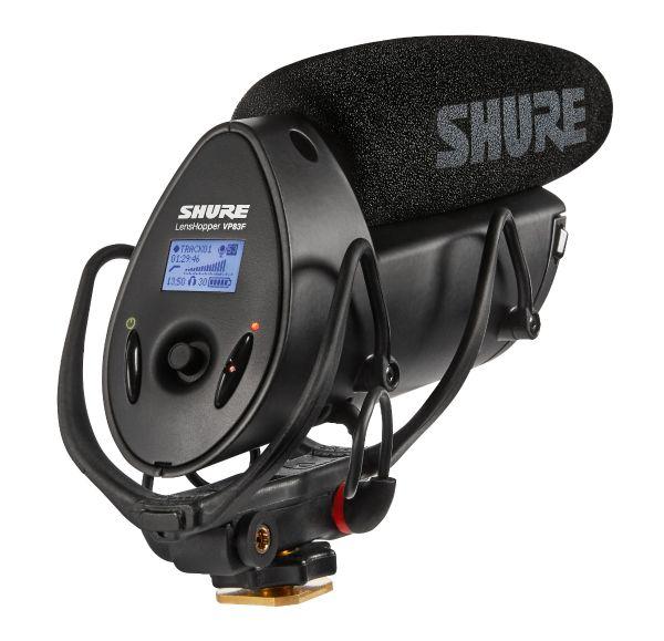 Shure VP83F LensHopper™ は小型で堅牢…