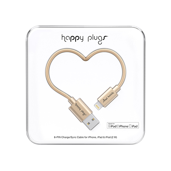 LIGHTNING USB CABLE CHAMPAGNE 9930