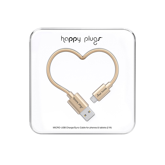 MICRO USB CABLE CHAMPAGNE 9933
