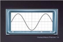 ◆オシロスコープ機能を内蔵し、入力と出力の波形表示が可能