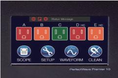 タッチパネル液晶により詳細なコントロールが可能