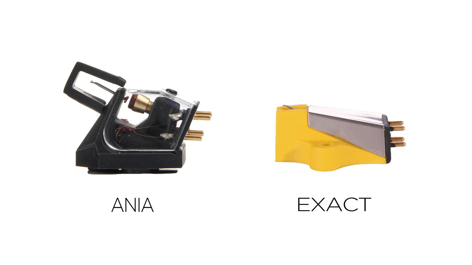 AniaとExact Ania/ MC カートリッジ、Exa…